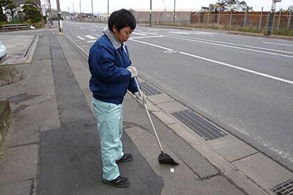 清掃活動(マナー向上委員会)